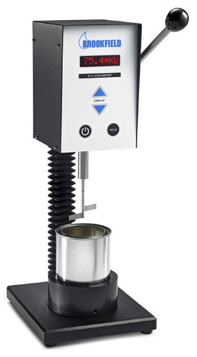 viscosímetro Krebs / de laboratorio / digital / continuo