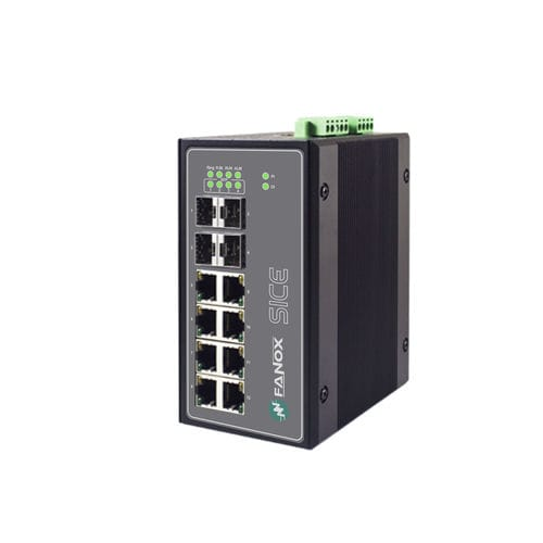 conmutador Ethernet administrable