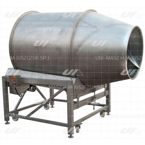 mezcladora de tambor / en línea / para líquidos / para productos congelados