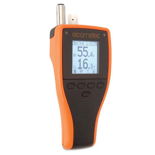 higrómetro digital / de mano / humedad relativa / industrial