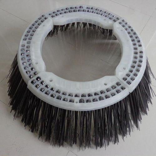 cepillo circular / de limpieza / de polipropileno / flexible