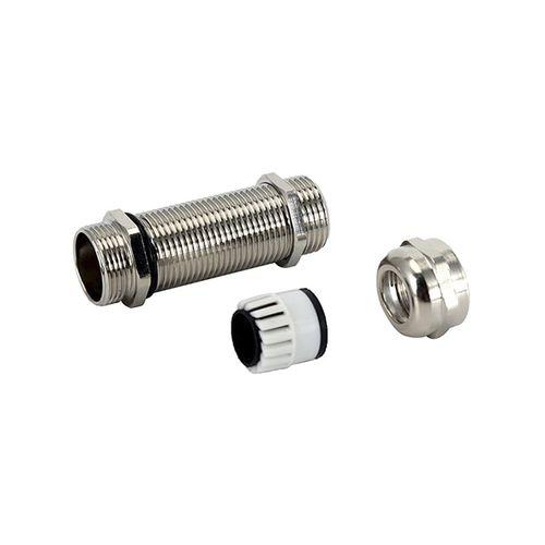 prensaestopas de latón niquelado / de acero inoxidable / IP68 / roscado