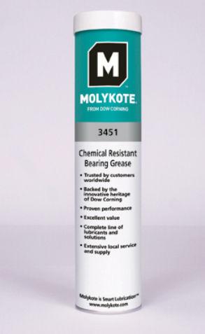 grasa para rodamiento / resistente a los productos químicos / de alta temperatura