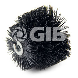 cepillo cilíndrico espiral / de limpieza / de nailon