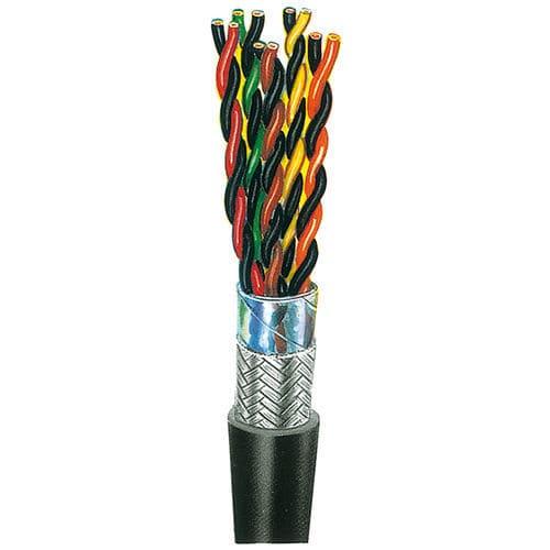 cable eléctrico de datos / DIN / blindado / multiconductores
