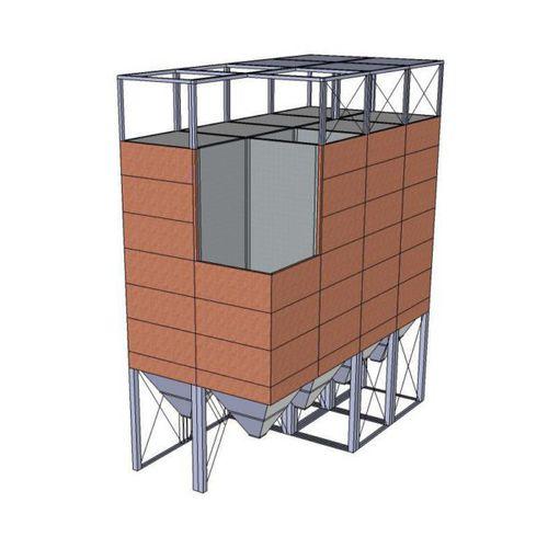 silo flexible / para productos a granel / para productos químicos / para cereales