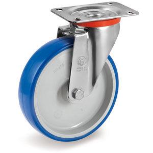 ruedecilla giratoria / con platino giratorio / de metal / de poliamida