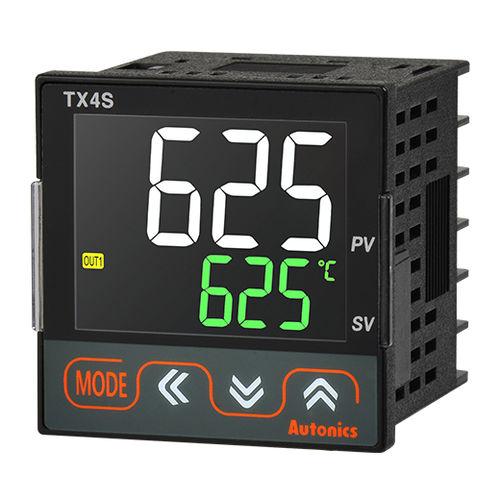 controlador de temperatura con pantalla LCD / PID / compacto / RS-485