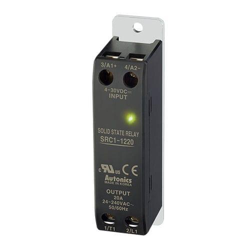 relé estático monofásico / DC / AC / con disipador térmico