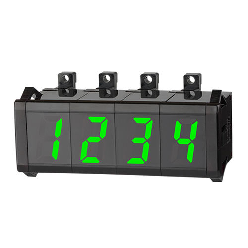 visualizador LED / compacto / de 1 dígito / de 7 segmentos