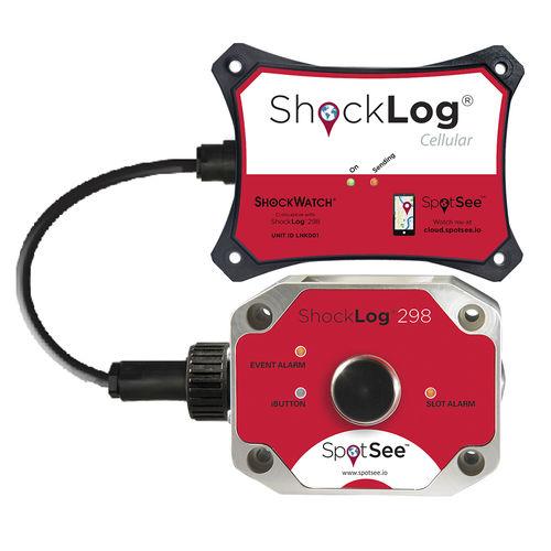registrador de datos de aceleración / de choques / de vibración / de fuerza