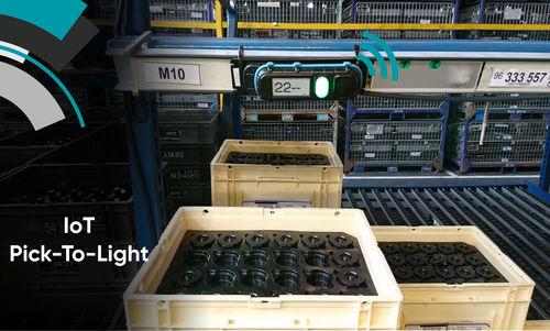 máquina de preparación de pedidos múltiples - EDITAG