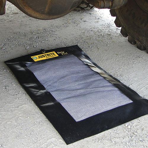 alfombra absorbente / de PVC / modular / para espacio húmedo