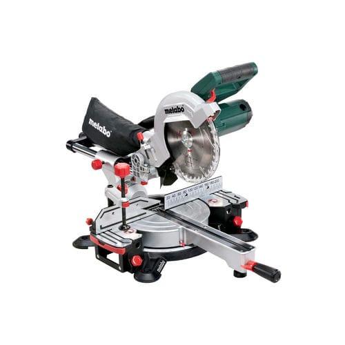 sierra ingletadora / para madera / con unidades de traslación