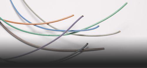 cable monoconductor aislado / de cobre / de PTFE / monoconductor