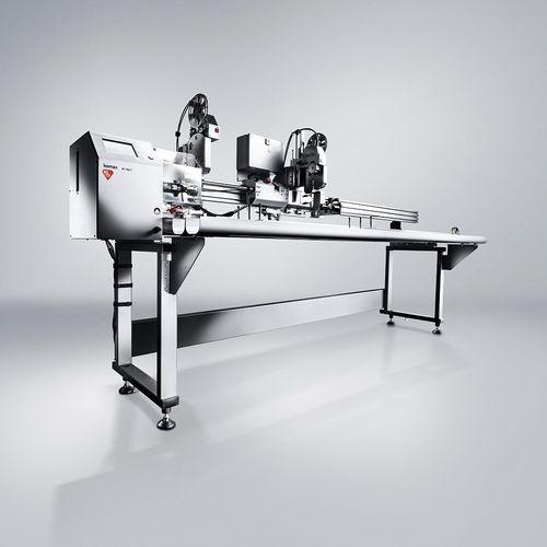 bobinadora semiautomática / de film plástico