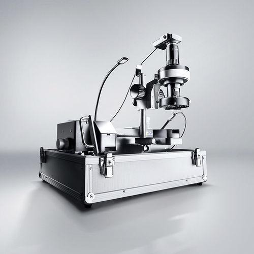 laboratório micrográfico
