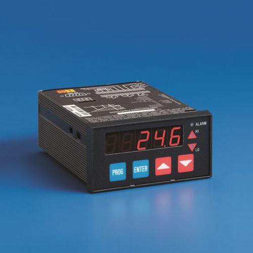 indicador programable / de temperatura / de caudal / de humedad