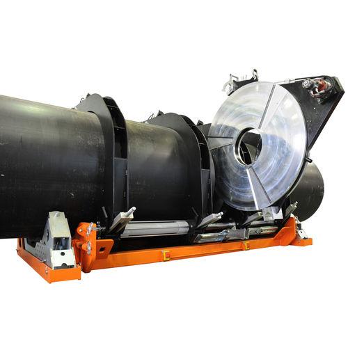 máquina de soldar a tope / AC / semiautomática / para tubos de plástico