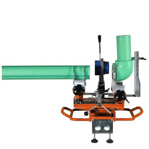 máquina de soldar por resistencia / AC / automática / para tubos de plástico