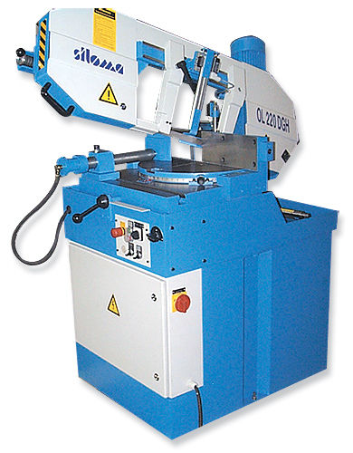 sierra ingletadora / para metales / horizontal / semiautomática