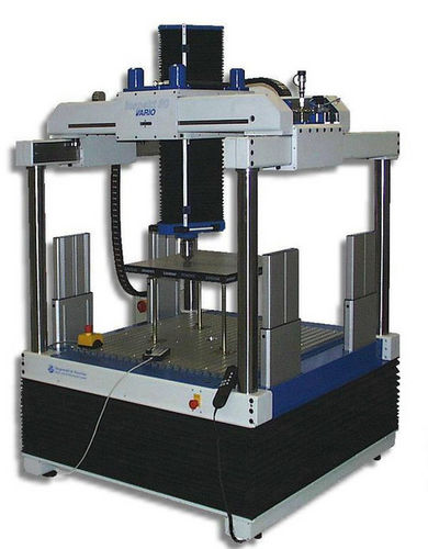 máquina de prueba de compresión / de flexión / para elementos de suelo / electromecánica
