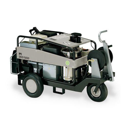 máquina de lavado de alta presión / en caliente / manual / de motor