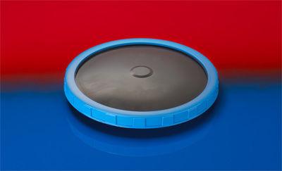 difusor de membrana / con disco / para el tratamiento de aguas residuales