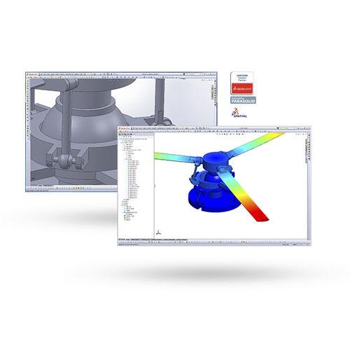 software de simulación / de diseño / de gestión de datos / 3D