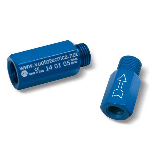 válvula de corredera / de cierre / de aluminio anodizado / de vacío