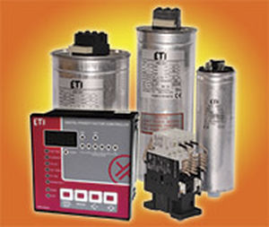 condensador eléctrico PFC / cilíndrico / trifásico / de baja tensión