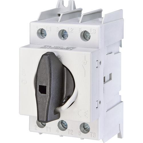 interruptor seccionador rotativo / AC / en riel DIN / modular