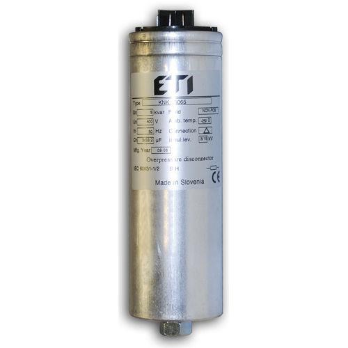 condensador eléctrico de película de polipropileno / cilíndrico / de compensación factor de potencia / trifásico