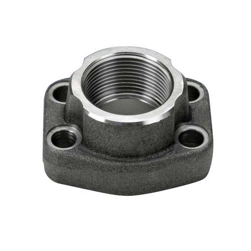 brida SAE / para tubos / de enganche / de acero