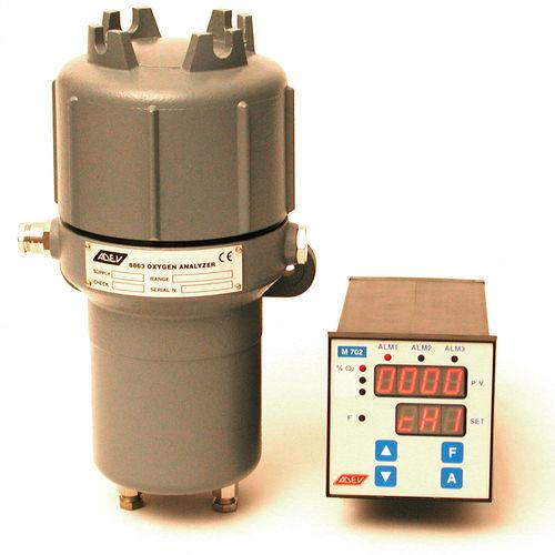 analizador de gas / de oxígeno / de concentración / integrable