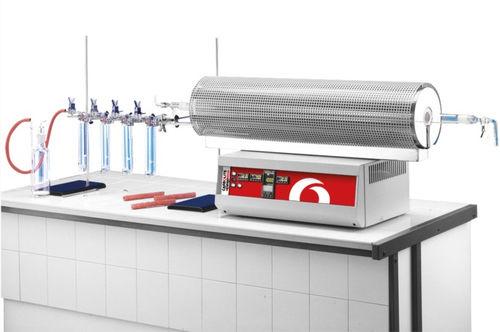 horno de regeneración de carbono / tubular / de combustión / de laboratorio