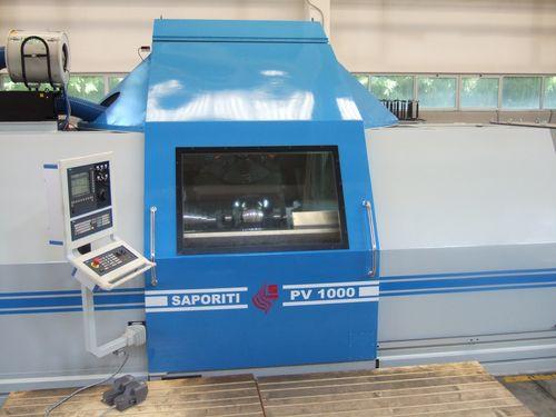 rectificadora sin centros / para tuberías / CNC / de alta precisión