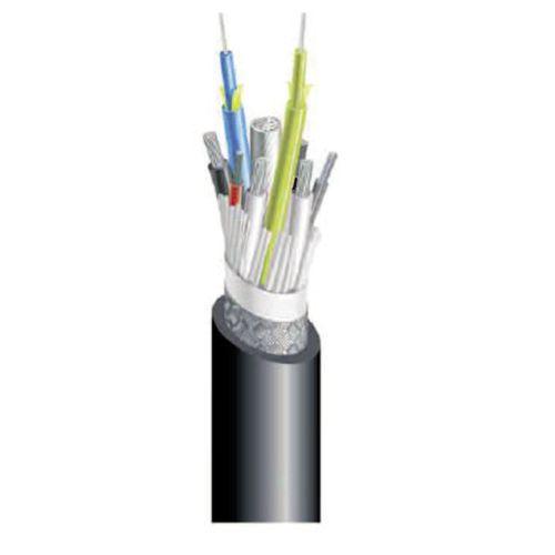 cable óptico audio/vídeo / híbrido / antipropagación de fuego / breakout