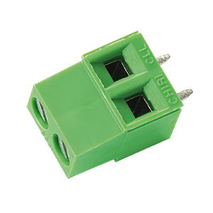 bloque de conexión con tornillo / de material plástico / modular