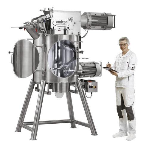 mezcladora de cinta / batch / de polvo / para la industria agroalimentaria