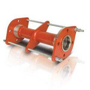 compensador de dilatación de metal / redondo / de brida
