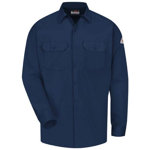 camisa de trabajo / contra los arcos eléctricos / de algodón