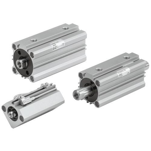cilindro hidráulico / de doble efecto / compacto / de construcción ligera