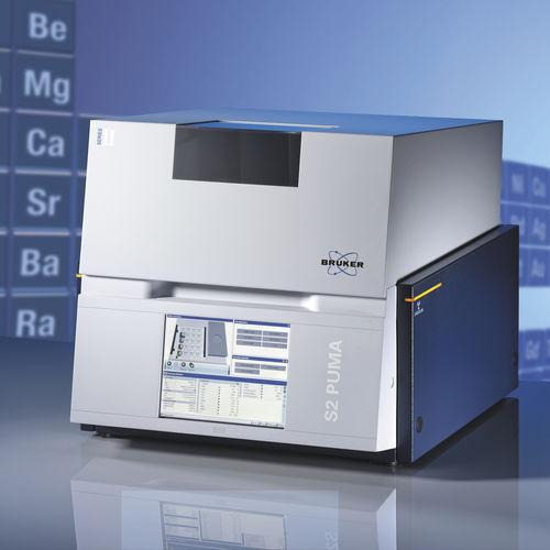 espectrómetro de fluorescencia