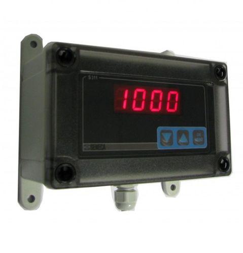 indicador de proceso / de tensión / de corriente / digital