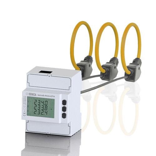 dispositivo de medición de potencia trifásico / con entradas Rogowski