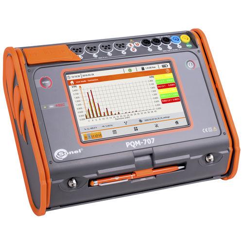 analizador de red eléctrica / de calidad de la energía