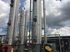 sistema de purificación de alta presión