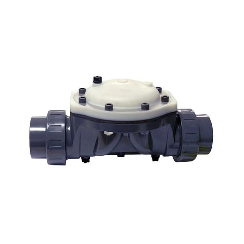 válvula de membrana / hidráulica / resistente a los productos químicos