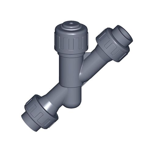 válvula de asiento inclinado / hidráulica / roscada / en Y